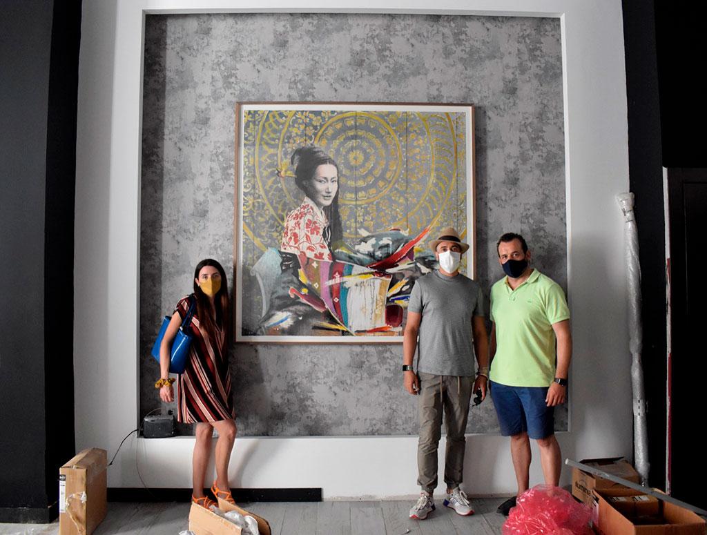 Hanbok instalaccion Poom jose luis puche